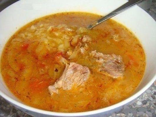 Густой грузинский суп Харчо | Школа вкуса  - вкусные кулинарные рецепты