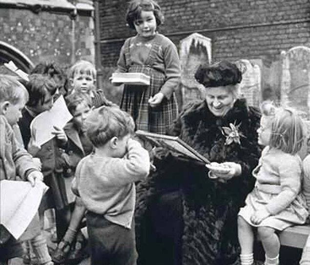 """""""Maria Montessori August 31, 1870 educator first woman to attend medical school, first female Doctor of Medicine"""" ~ Laurie ~ wink emoticon  """"Maria Montessori (August 31, 1870) educator: first woman to attend medical school, first female Doctor of Medicine in Italy, worked with handicapped and socially deprived children, developed unique educational method known as the Montessori method; Montessori Schools named for her; died May 6, 1952 """""""