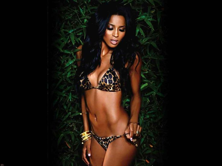 ciara bikini Wallpaper HD Wallpaper