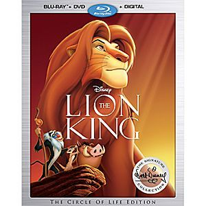 The Lion King Blu Ray and DVD. Pre-order, thanks Hunzy! (VCR Deal!)