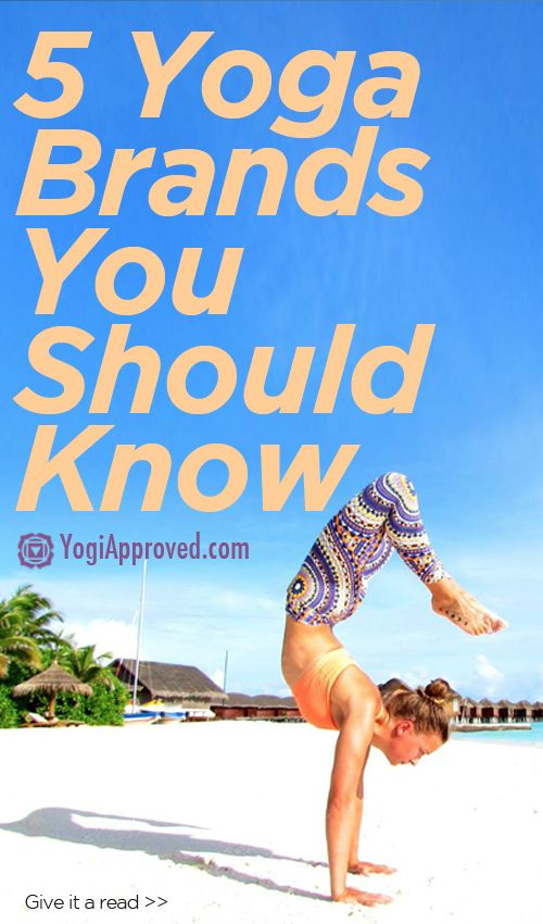 5 Yoga Brands You Need to Know - YogiApproved.com