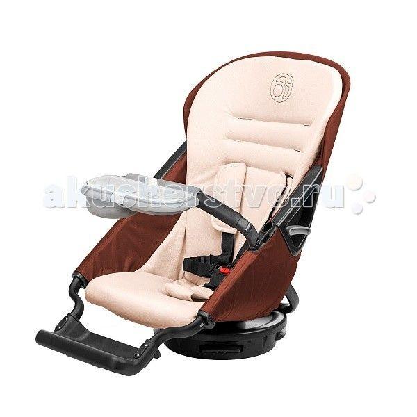 Прогулочный блок Orbit Baby Stroller Seat G3  Прогулочный блок Orbit Baby Stroller Seat G3 может вращаться на 360 градусов на шасси коляски и качалке Orbit Baby Rocker Base (приобретается отдельно). 3DRotation™: вращайте и наклоняйте прогулочное сидение одним движением руки.  Продукт соответствует стандартам Американского общества по контролю за материалами (стандарты F2050 и F833), стандарту CA TB117 противопожарной безопасности, а также Соглашению по улучшению безопасности потребителей…