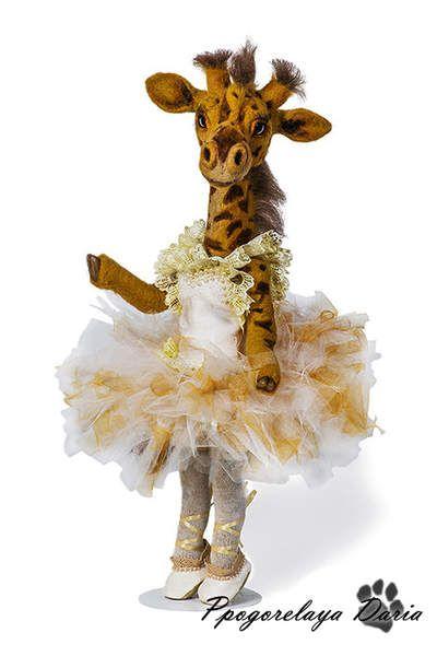 Giraffe Margot By Pogorelaya Daria - Bear Pile