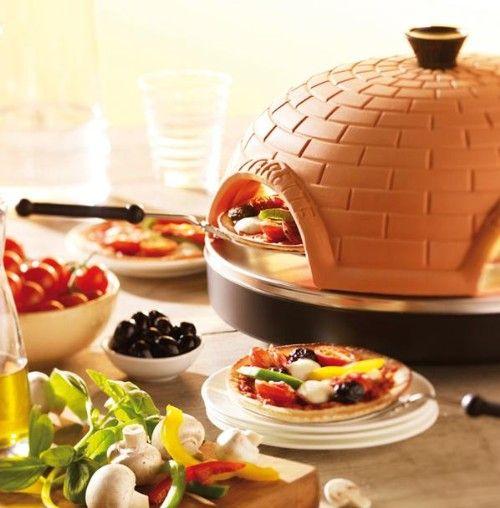 Dit wil ik dus hebben! Gourmetten met pizza's, briljant! | Pizzarette - Pizza oven voor 6 personen