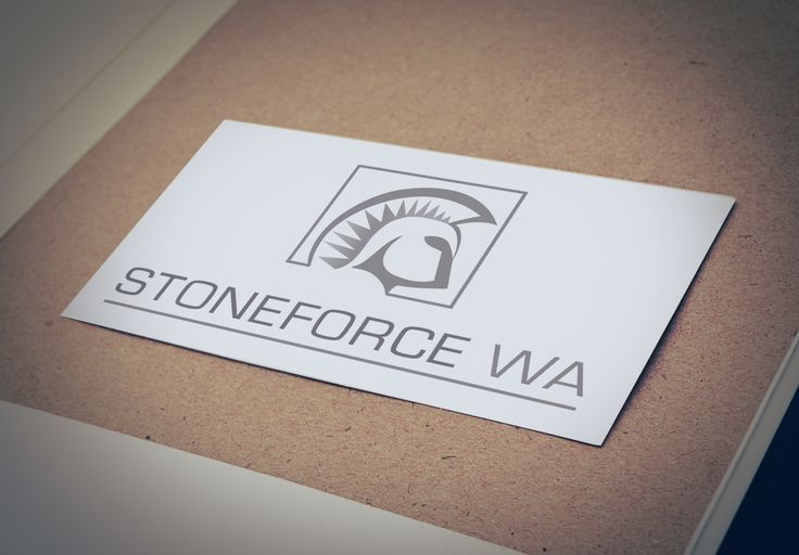 Stoneforce WA Logo Design - Perthtiler specialising in marble and granity projects