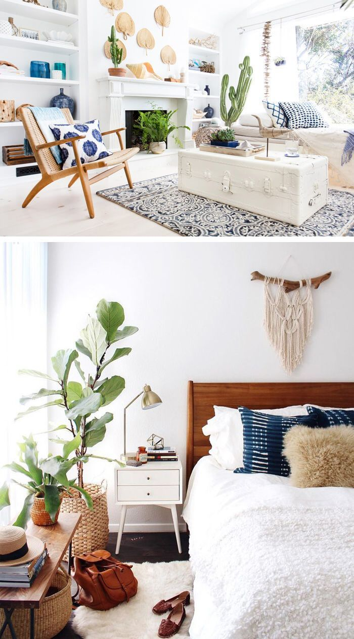 Get The Boho Chic Look 32 Bohemian Interior Design Ideas Home