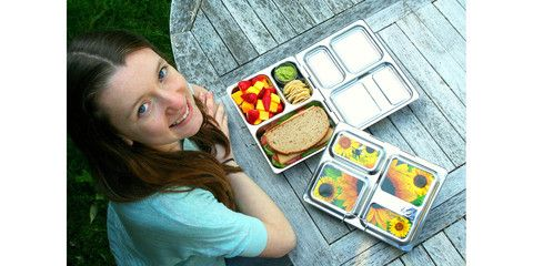 PlanetBox Launch Stainless Steel Bento Box Style Food Container | PlanetBox