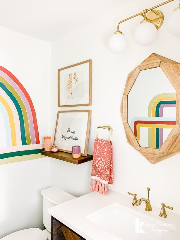 The REVEAL of Our Colorful DIY Bathroom Remodel: Primp and Pamper Week 4