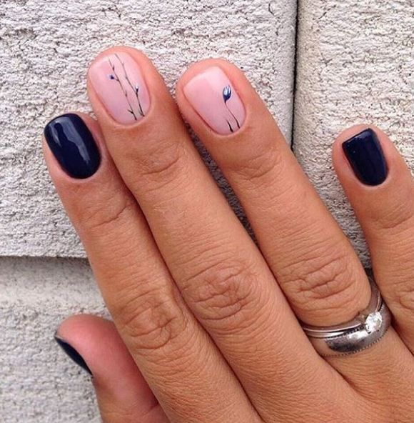 17 Best Ideas About Simple Nail Art Designs On Pinterest