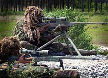 British sniper Craig Harrison used a .338 Lapua magnum to make the longest confirmed sniper kill shot at 2,707 yards in Afghanistan in 2009