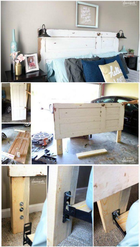 Die besten 25+ Vintage bett rahmen Ideen auf Pinterest Shabby - faszinierende vintage schlafzimmermobel romantisch und sus