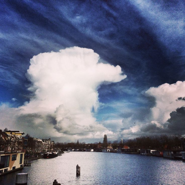 Cloudporn :-) Amazing skies over Haarlem today.
