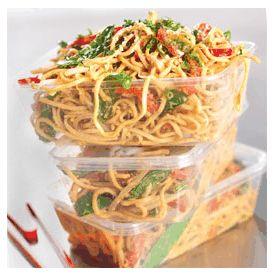 Sesame Peanut Noodles - a fun school lunch idea!
