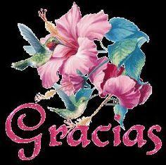 agradecimiento con flores