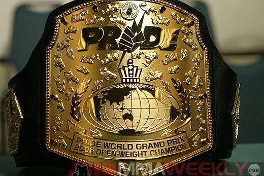Pride MMA Championship Title
