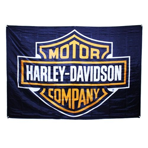 Harely Davidson Banner- Perfect for any Harley Davidson fan.