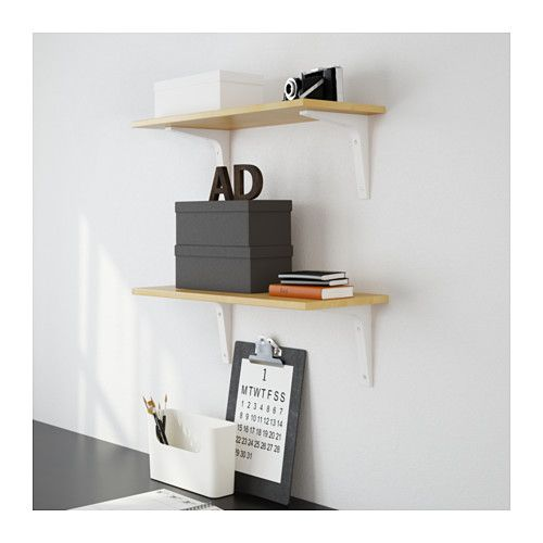 EKBY LAIVA / EKBY STÖDIS Półka ścienna - 59x24 cm - IKEA