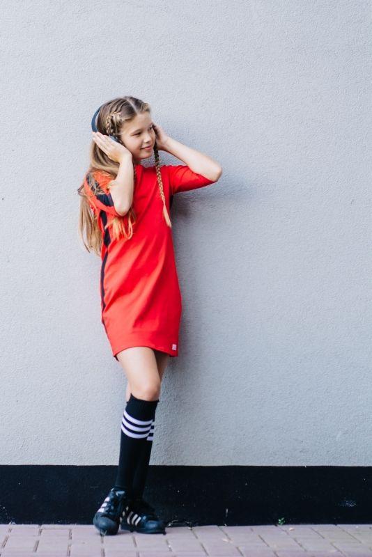 Mu-Chica  Jurkje Red Velvet