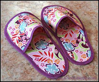 Tutorial zapatillas de tela