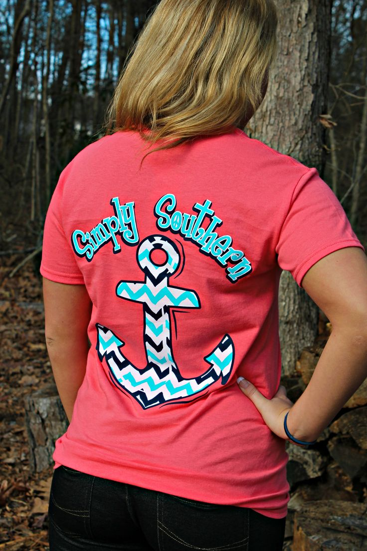Simply Southern Anchor Tee $19.99 #southernfriedchics