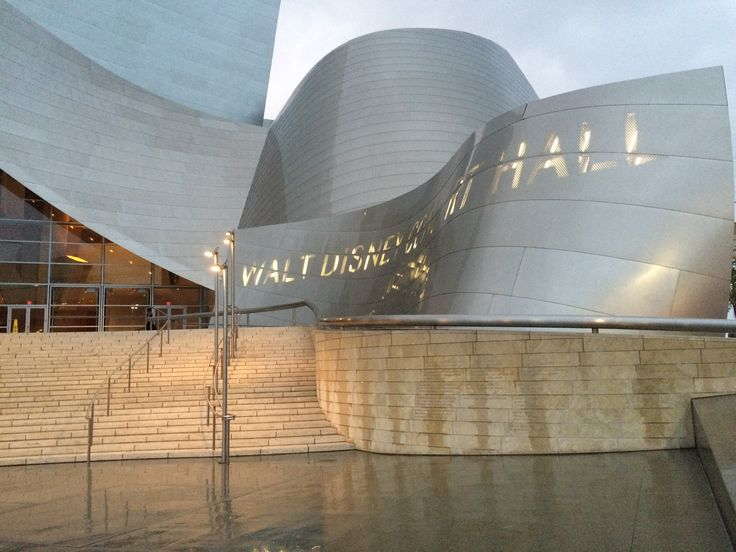 Disney's Concert Hall, LA, CA, US