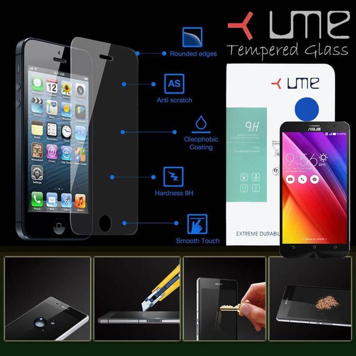 Ume Tempered Glass Asus Zenfone 2 ZE550ML - Rp 110.000 - kitkes.com