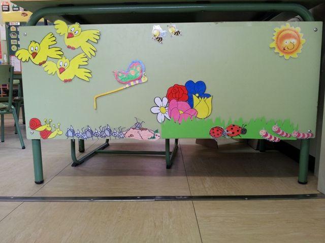 """Mural del conte """"La primavera"""""""