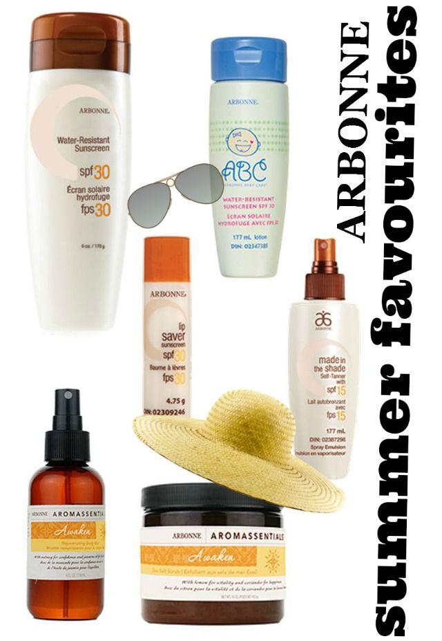 Arbonne Top Summer Picks + a giveaway!