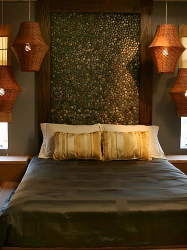 Very cool headboard...