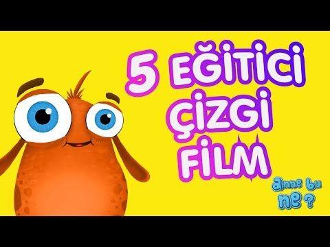 Eğlenceli 5 Eğitici Çizgi Film | Okul Öncesi Eğitici Çizgi Film | Anne Bu Ne? - YouTube