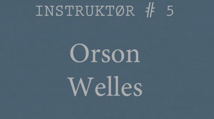 Cineast: Орсон Уэллс про акторську гру