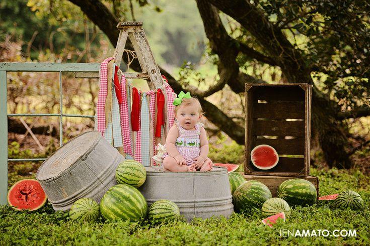 Ladder, Crates, Windows & Watermelon