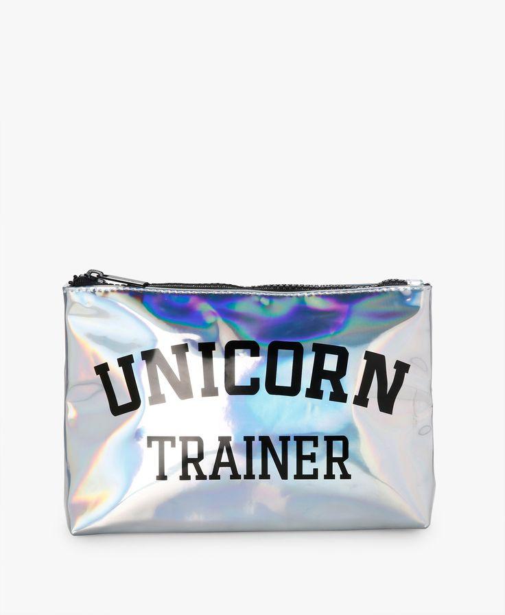 Unicorn Trainer Makeup Bag | Forever 21 | SIVVI.COM
