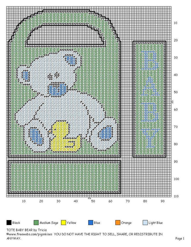 BABY TOTE - BOY BEAR