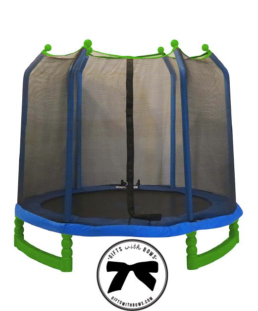 Upper Bounce :: 7ft Trampoline :: as featured on Gifts with Bows #giftswithbows #GWB