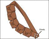 Star Wars jawa/Tusken Raider - The Bandoliers. PDF pattern for DIY Jawa/tusken raider bandolier.