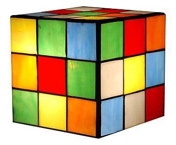 Abat-Jour in vetro Rubik - 15x15x15 cm