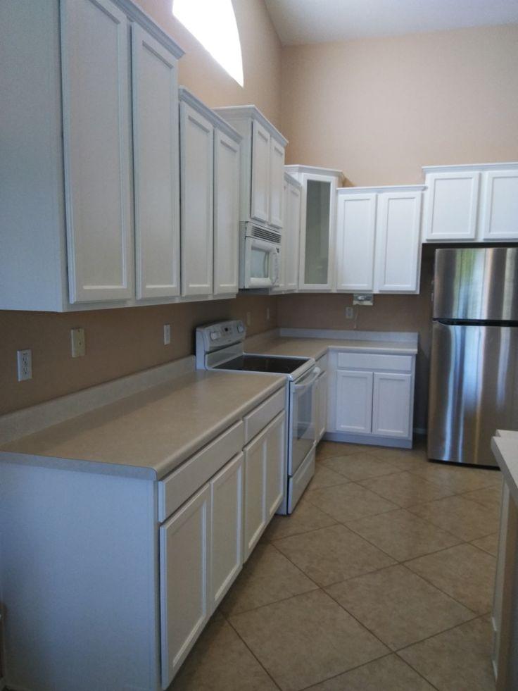 Polar bear white chalk painted kitchen cabinets. 😍 - Paint ...