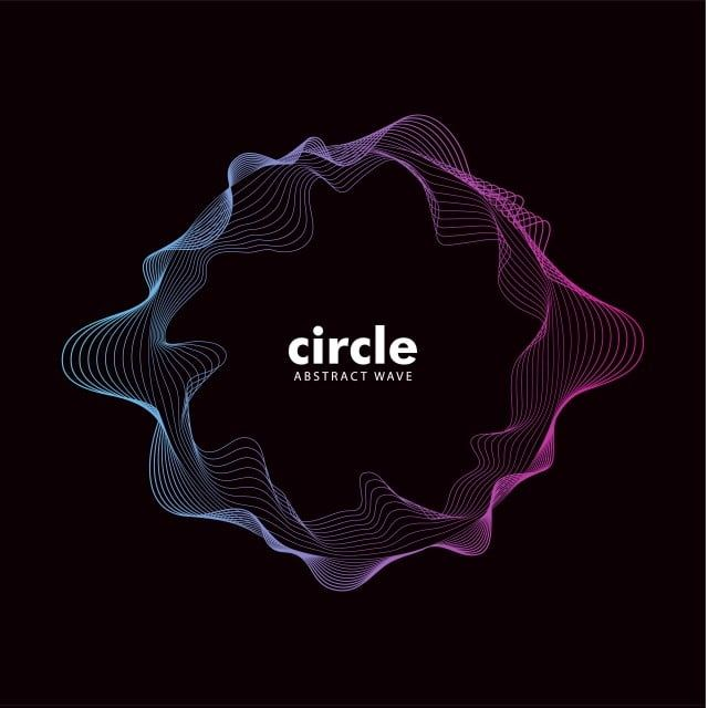 Trendy Abstract Cirlce Wave Sound Effect Abstract Audio Backdrop Png And Vector With Transparent Background For Free Download Abstract Waves Waves Best Background Images