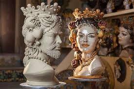Risultati immagini per teste di moro ceramica