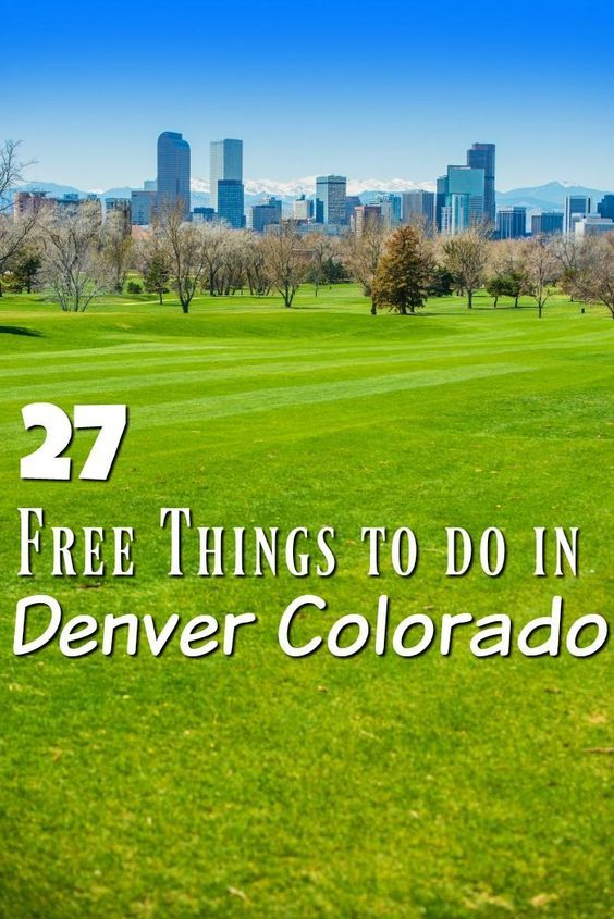There is so much to do in Denver Colorado that your budget will need a break! Check out these 27 amazing free things to do in Denver!