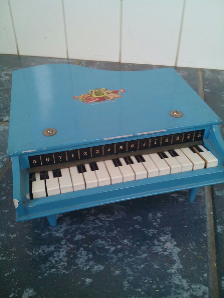 Vintage children's piano