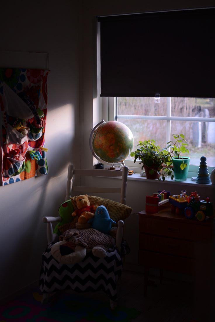 Organiserat kaos i ett barnrum