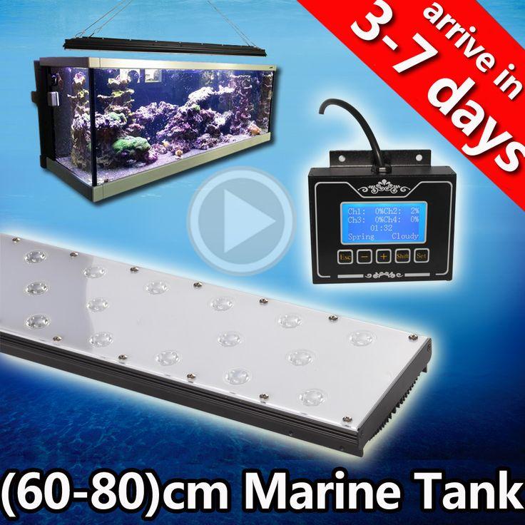 full spectrum grow light led aquarium tank fish acquario sunrise sunset 300 gallon aquarium for sale