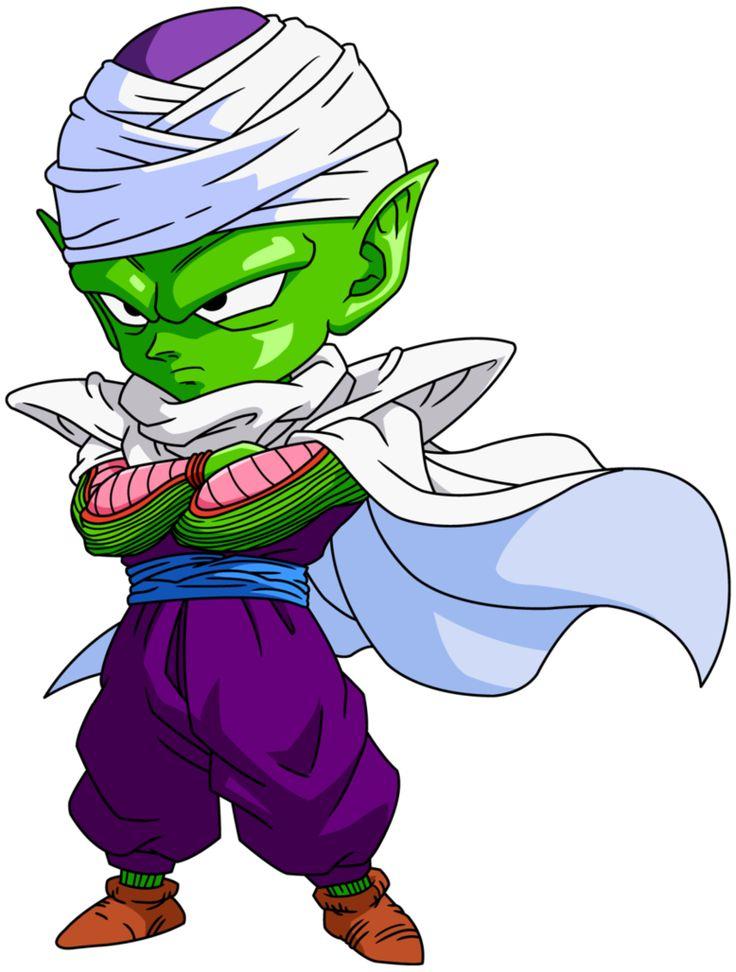 Piccolo - Personajes Chibi de Dragon Ball