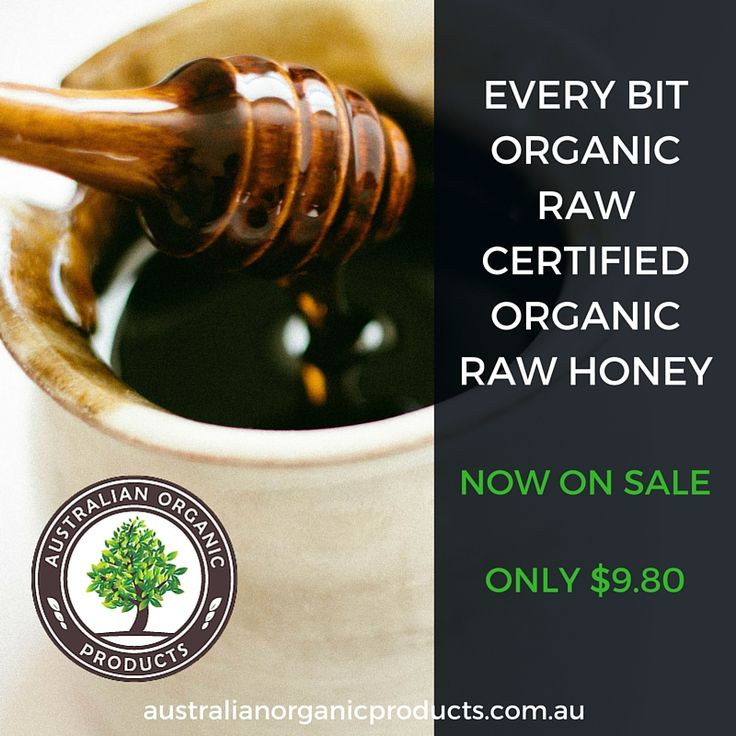 Every Bit Organic Raw Honey now only $9.80!