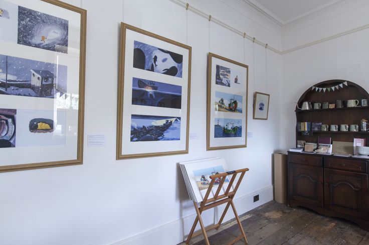 From Benji Davies new exhibition, The Storm Whale In Winter