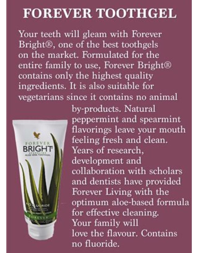 Tooth gel for ALL the family