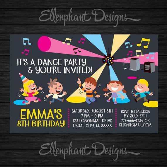 25+ Best Ideas About Dance Party Kids On Pinterest