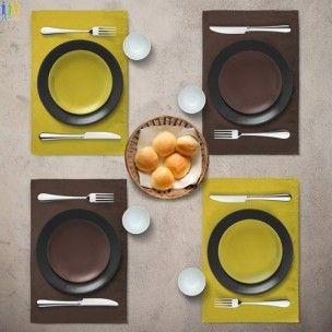 Set de table personnalisable en coton - set Cook' Out cadeau d'entreprise écologique